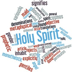 Word cloud for Holy Spirit