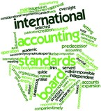 Word cloud for International Accounting Standards Board