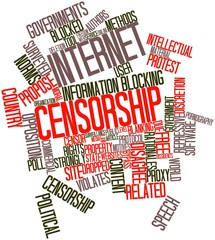 Word cloud for Internet censorship