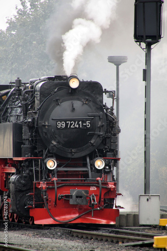 Brocken parowóz Railway