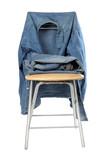 Workwear blue denim poster
