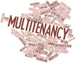 Word cloud for Multitenancy