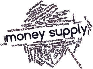 Word cloud for Money supply