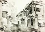 Bulgarian village street