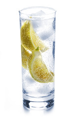 Fizzy Drink with Lemons
