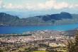 Vue aérienne d' Aix-les-Bains