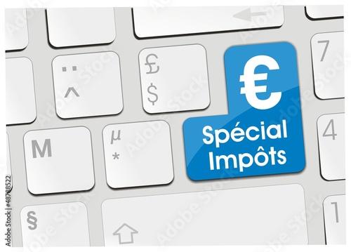 clavier spécial impôts