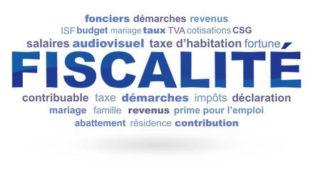 nuage de mots fiscalité