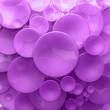 Purple transparent disk background