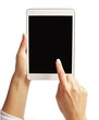 Finger Pointing on Tablet PC's Screen