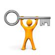 Manikin With Key