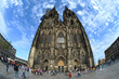 canvas print picture - Koelner_Dom_0811