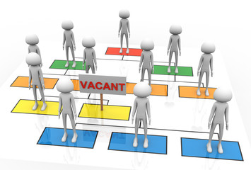 3d vacant position