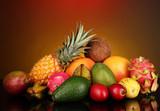 Fototapeta kolorowy - tło - Owoc