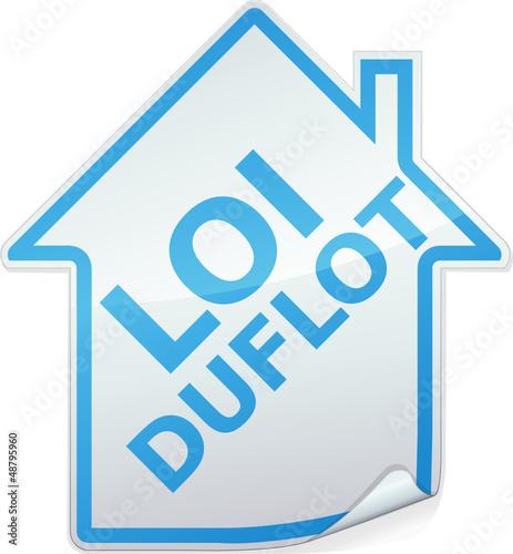 Sticker des bâtiments loi Duflot