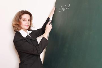 alte Mathelehrerin