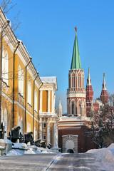 Nikolskaya Tower,Moscow
