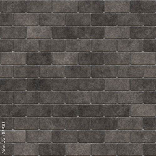 Brick wall grey
