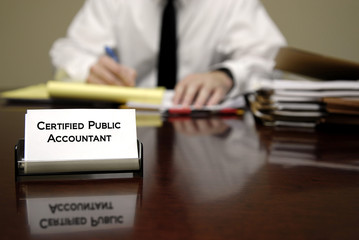 Accountant and Tax Time