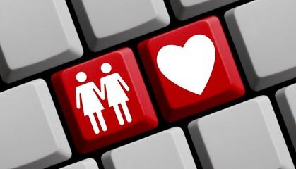 Liebe - Frau und Frau