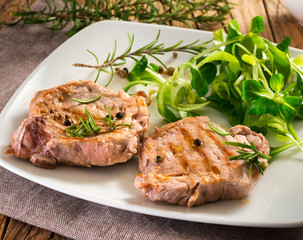 Grilled fillet - Filetto alla brace