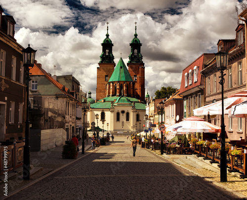 Cathedral in Gniezno, Poland