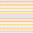 Seamless Pattern Easter Eggs Pastel Blue