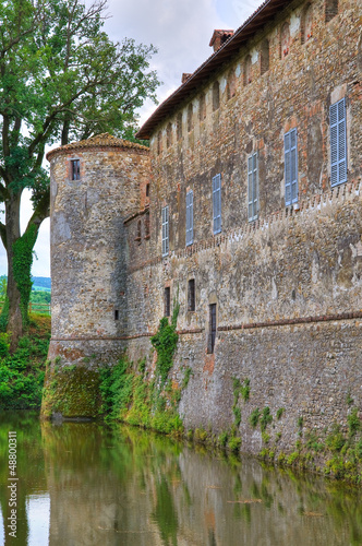 Castle of Lisignano. Emilia-Romagna. Italy.