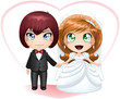 Bride And Groom Getting Married 2