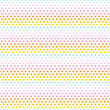 Seamless Pattern Dots Pastel Rainbow Blue