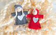 A Couple Fabric dolls