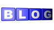 Blog blue cubes