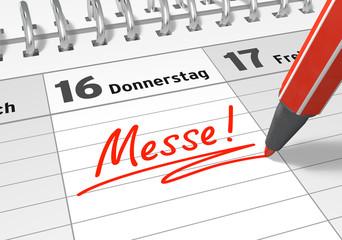 Terminkalender: Messe
