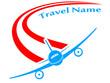 Reisebüro - Zeichen, Logo