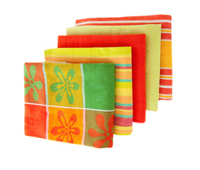 bright kitchen towels