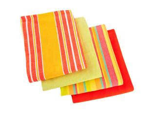 bright kitchen towels