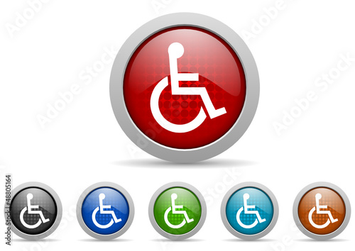accessibility vector icon set