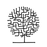 Maze tree for your design