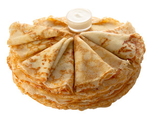 pancakes (isolated object)