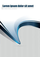 Vector abstract background for brochure or poster