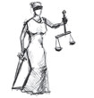 Themis (Femida) goddess of justice