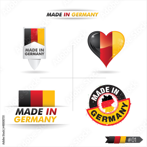 pictogramme : made in germany