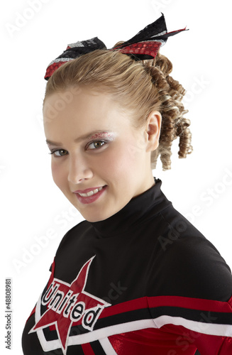 Portrait of a Cheerleader