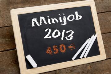 Minijob 2013