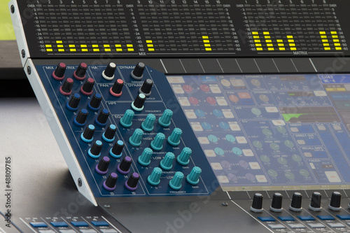 Digital sound mixer in concert