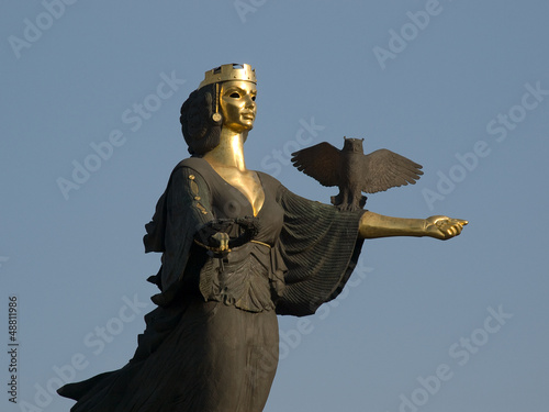 Monument of St. Sofia in Sofia (Bulgaria)