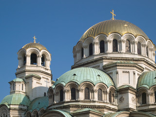 The St. Alexander Nevsky Cathedral in Sofia (Bulgaria)