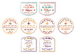 Passport stamps of Yemen, Oman and Saudi Arabia