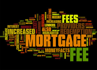 Beware of Mortgage Redemption Fees Concept
