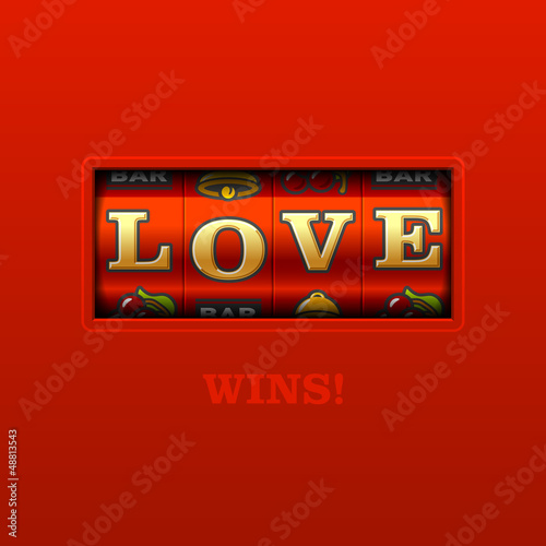 Love Wins! Slot machine.